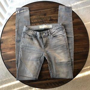 Grey Skinny Jeans - Denim & Co